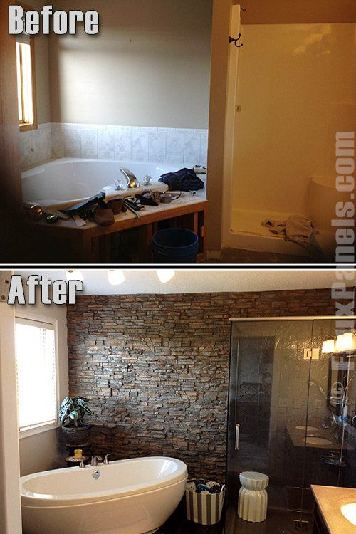 Accent wall ideas with manufactured stone design photos also best home deco goals images diy for house rh pinterest