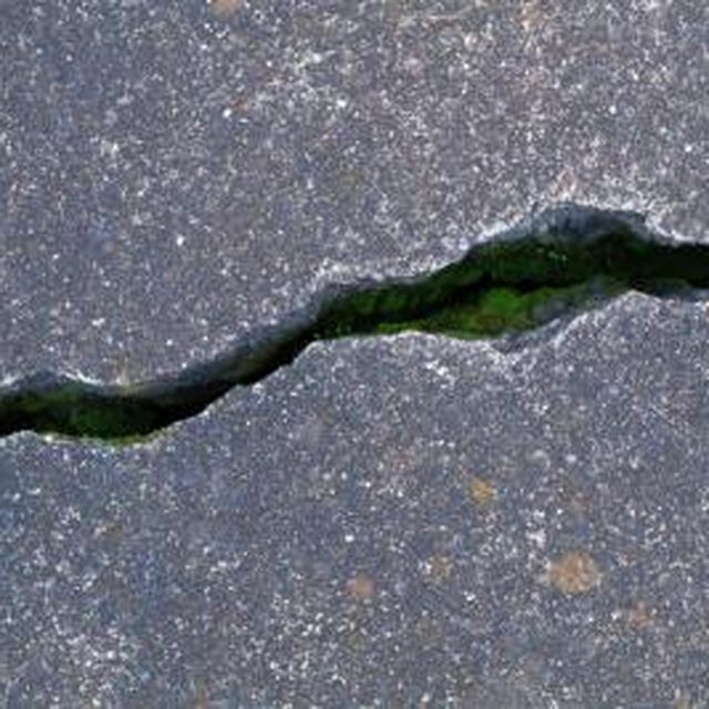 How to patch exposed aggregate large cracks epoxy for What temperature to pour concrete outside