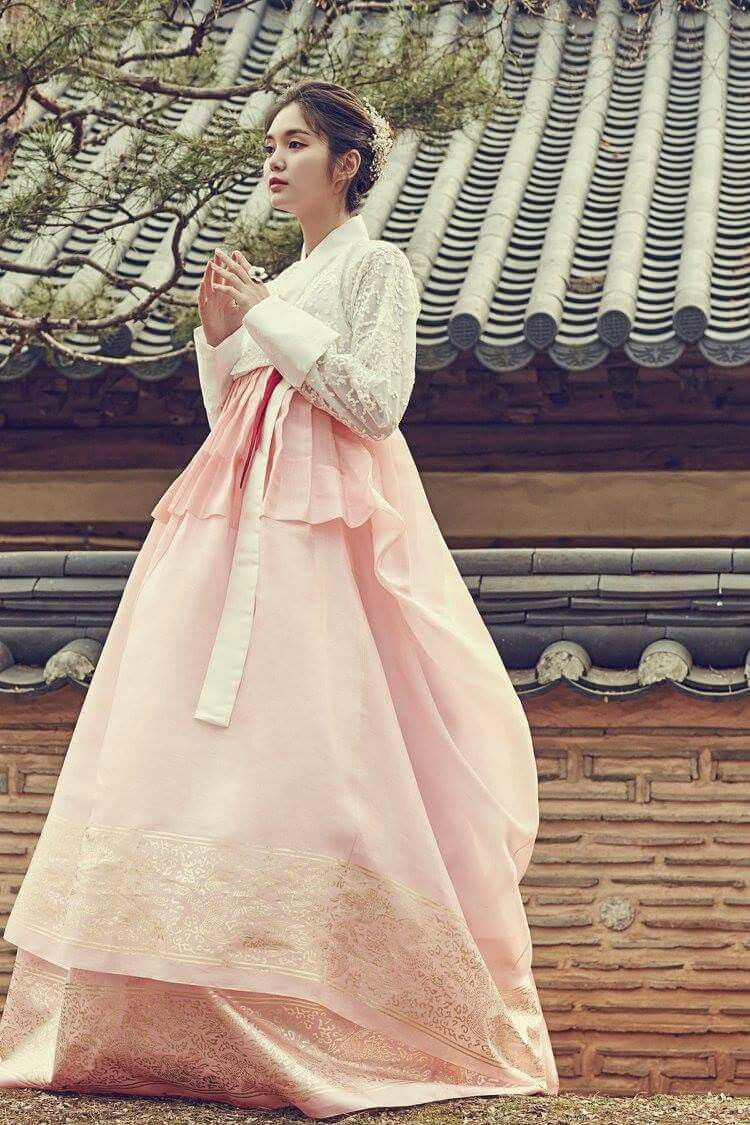 KOREAN HANBOK 한복 결혼식, 한국 웨딩 드레스, 전통 드레스