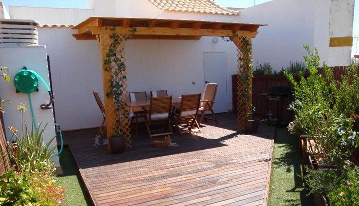 Ideas Para Convertir Una Terraza En Jardin Decoracion De Exteriores Estructuras Para Exterior Jardines