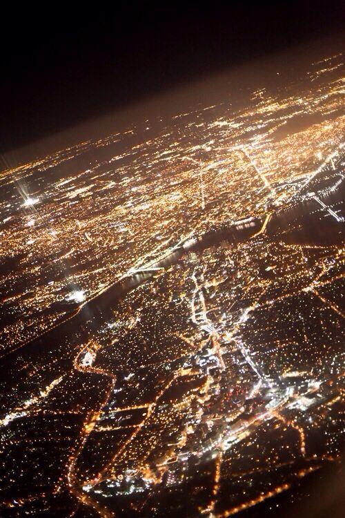 City nights Lugares hermosos, Vista aerea, Fotos