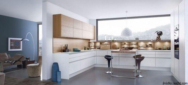 Sciana Nad Blatem Kuchennym Czym Ja Wykonczyc Modern Kitchen Design Contemporary Kitchen Cabinets Minimalist Kitchen Design