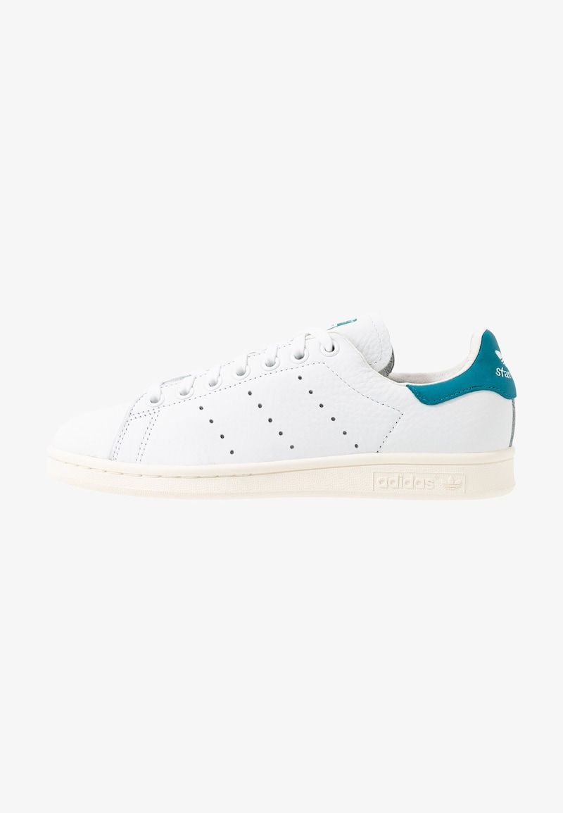 STAN SMITH - Sneakers laag - footwear white/active teal ...