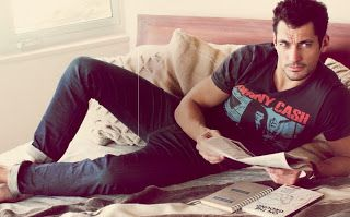 David Gandy for Lucky to Dolce