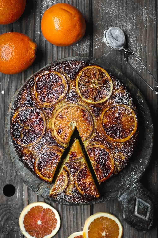 Feuerzeug Orange Ricotta Kuchen Das Mediterrane Gericht