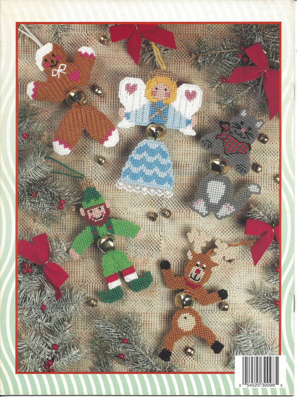 Jingle Bell Buddies Plastic Canvas Pattern by KnitKnacksCreations