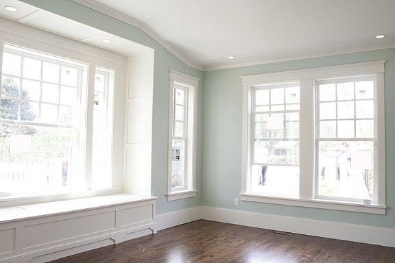 Love the window seat feet! | Home, House, Home decor bedroom