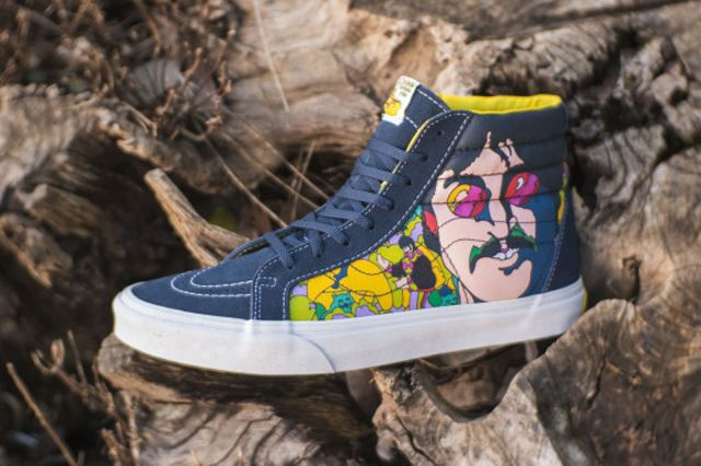 9f1f60ab9b THE BEATLES x VANS SK8-HI (YELLOW SUBMARINE)