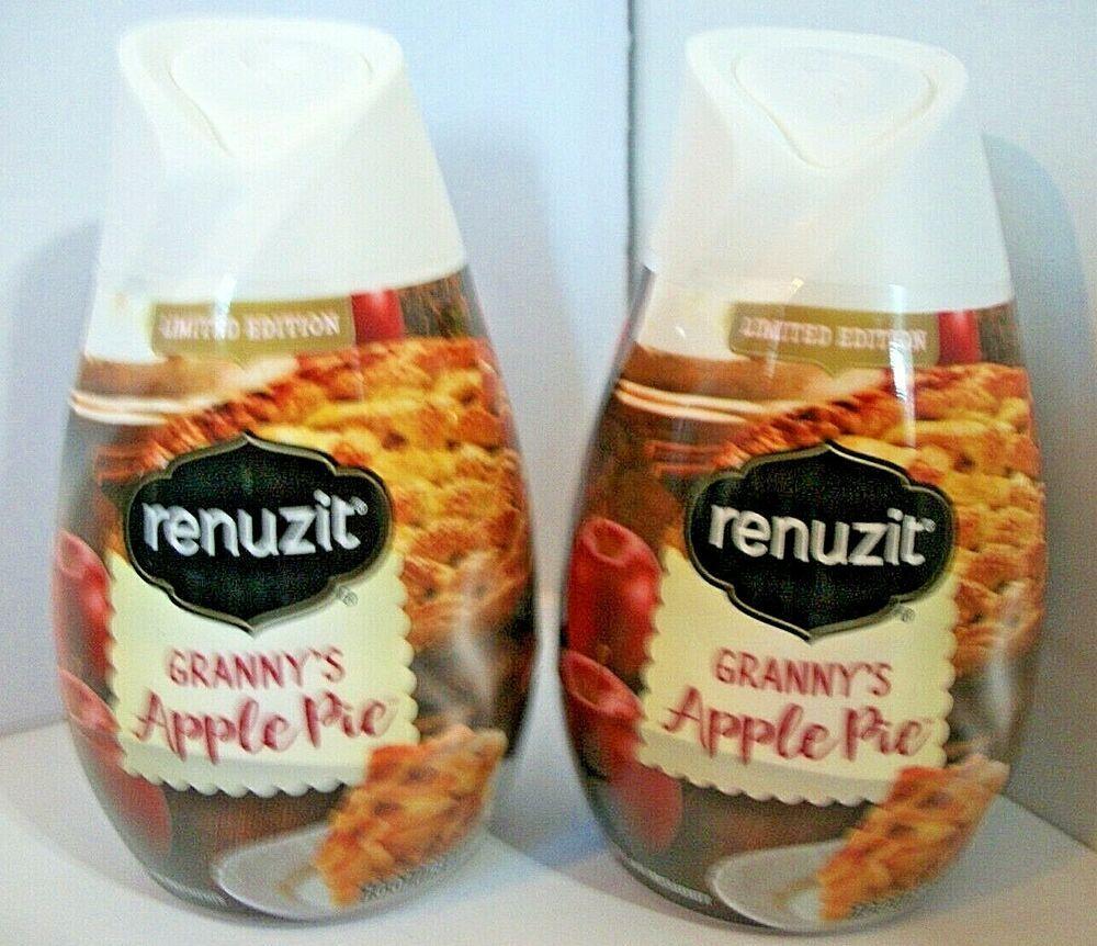 2 Pack Seasonal Renuzit Gel Air Freshener 7 OZ Grannys