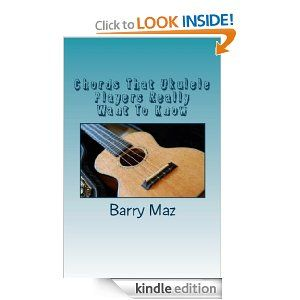 Chords That Ukulele Players Really Want To Know provides clear diagrams for the most popular ukulele chords in Kindle format that you can carry with you anywhere you go. Playing with friends and don't have your songbook - just check your Kindle to remind yourself of the chord layout you need, or even use yo