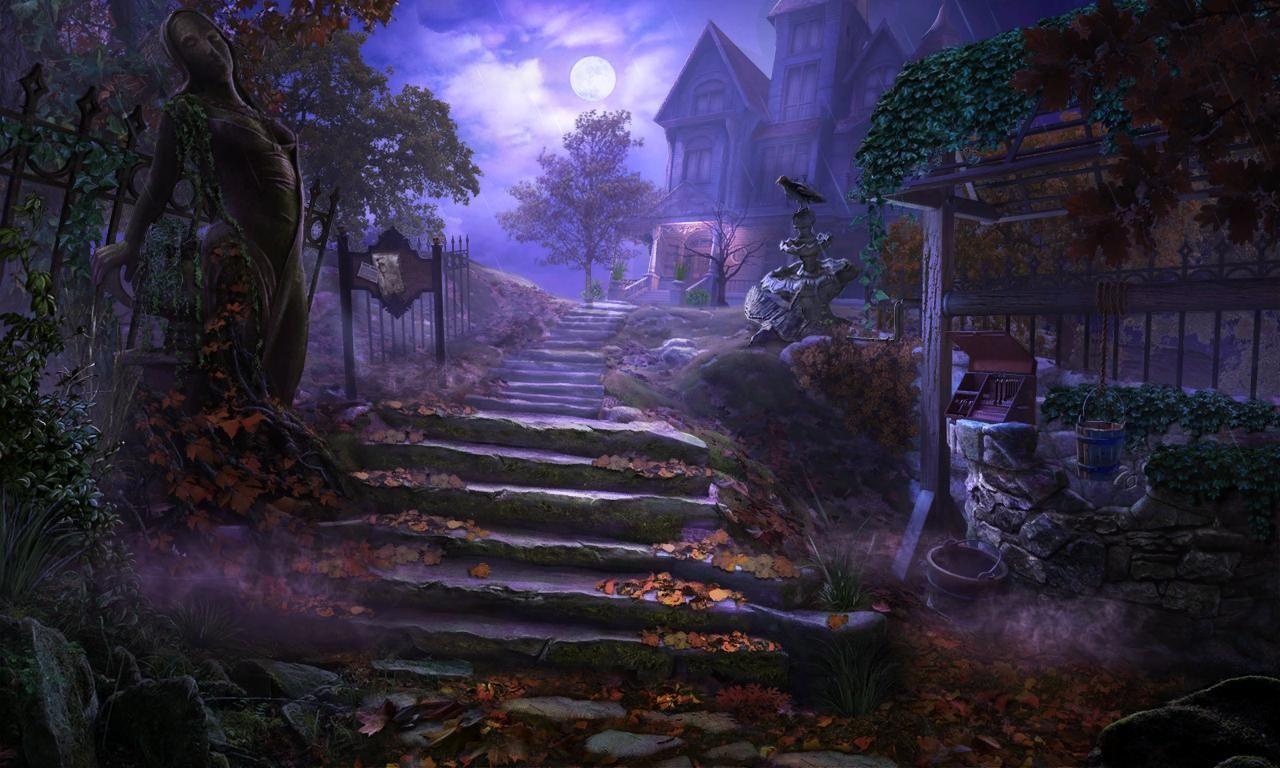 Mystery Case Files Key to Ravenhearst Video Game Art