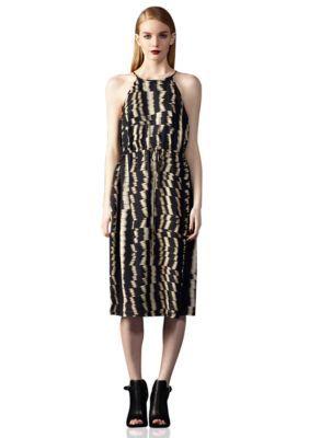 Ivy  Blumaggy boutique  Printed Halter Dress