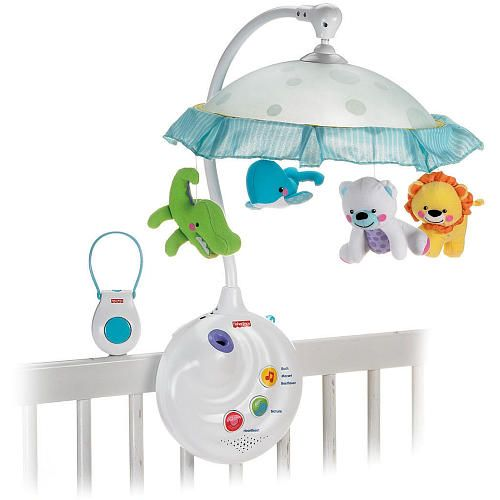 Fisher Price 2 In 1 Precious Planet Projection Mobile