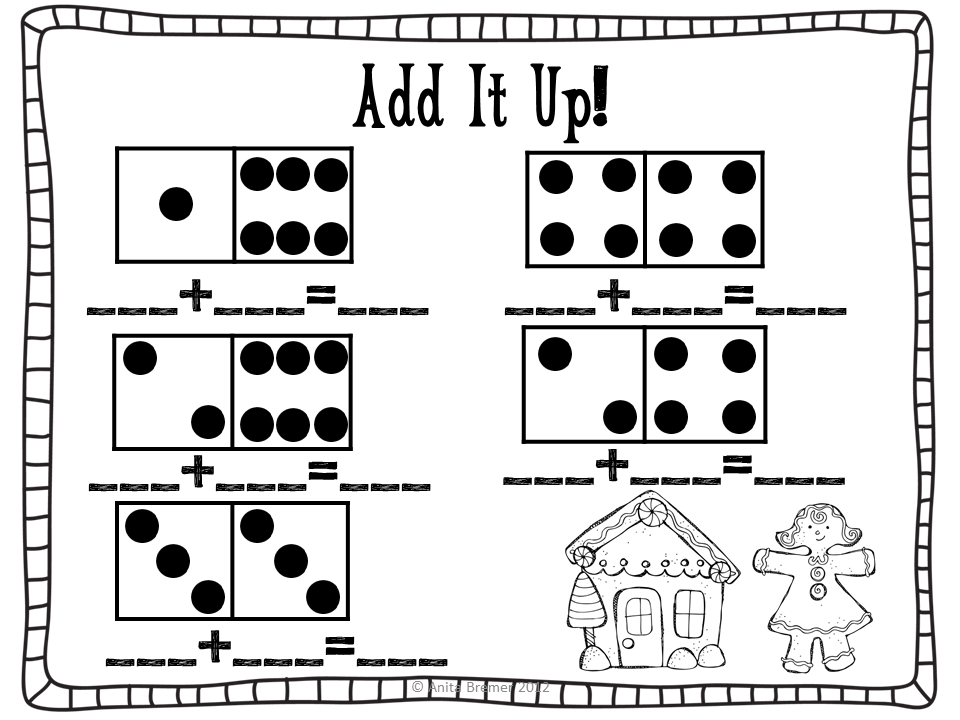 Unifix Cube Worksheets With The Math Addition
