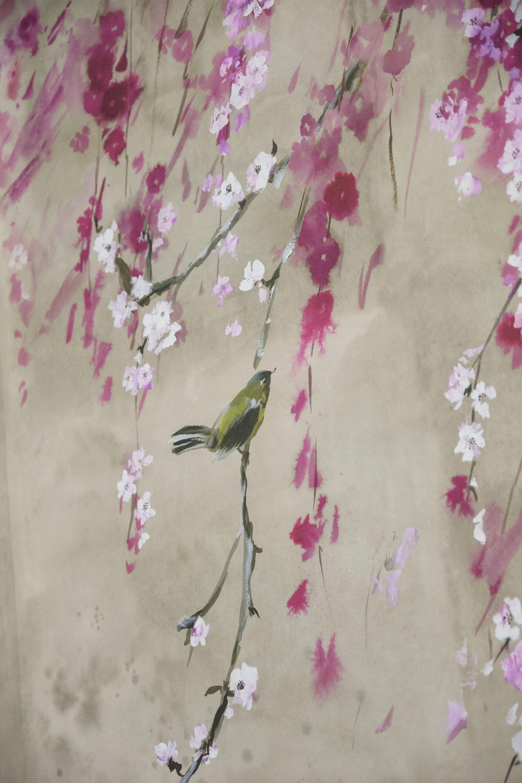 Designers Guild Shinsha Scene 1 Wallpaper Le Poeme De
