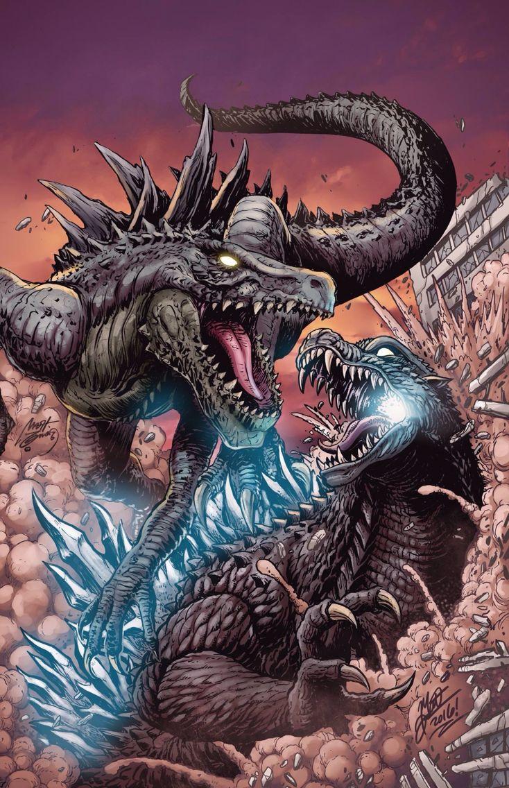 Image result for godzilla vs zilla monsterverse