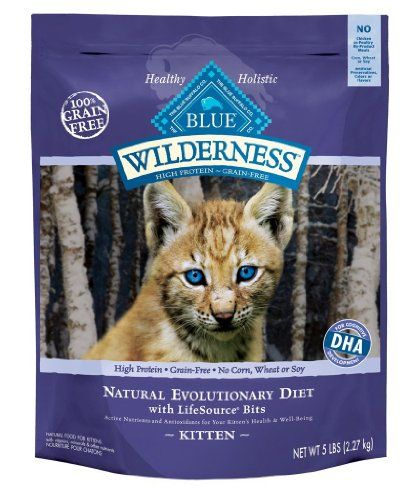 Blue Buffalo Wilderness Kitten 2 Lb Bag Blue Buffalo Http Www Amazon Com Dp B008exexw6 Ref Cm Sw R Pi Dp Amqjtb1r Kitten Food Dry Cat Food Healthy Cat Food