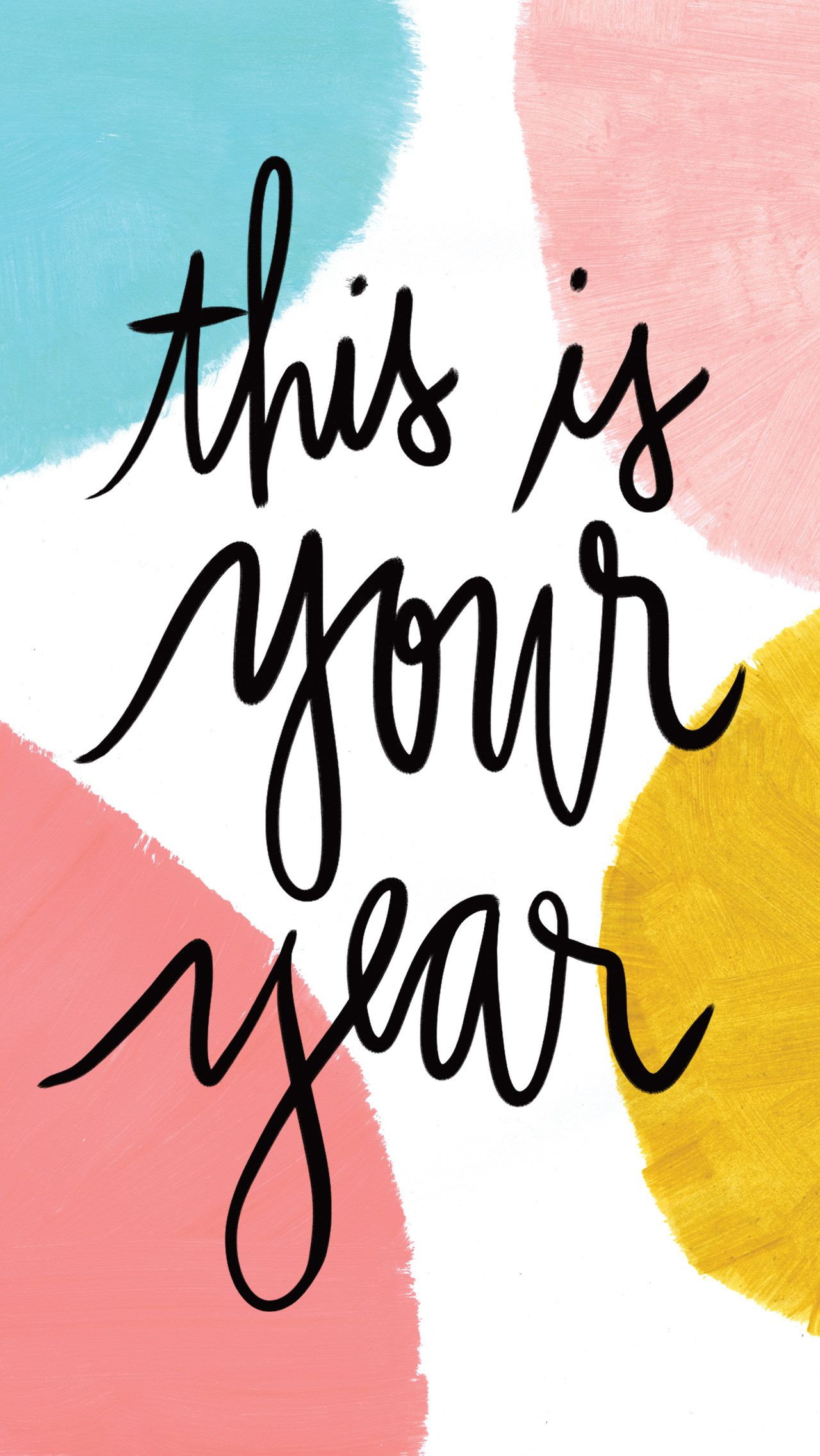 This message that will totally set the tone for the year ahead: