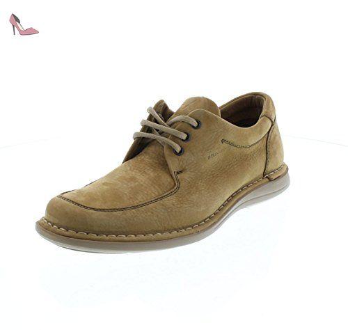 FRAU , Chaussures de ville à lacets pour homme - marron - cuir, 39 EU