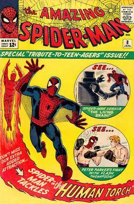 Amazing Spider-Man #8. The Living Brain.