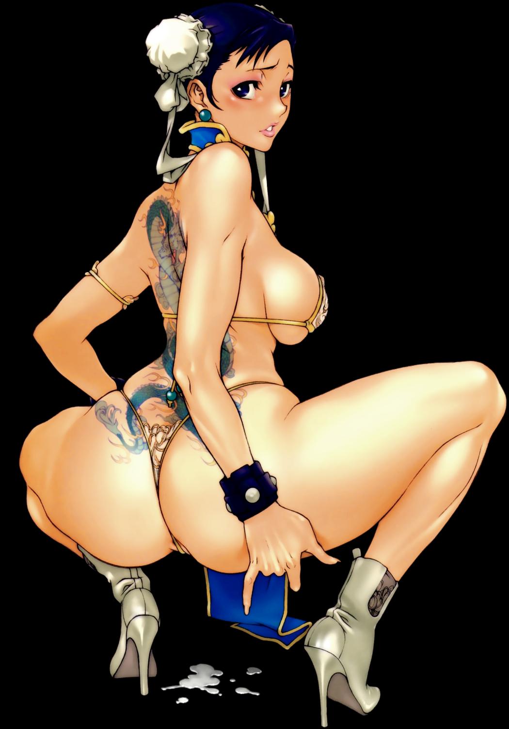 Chun li mirada sexy