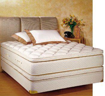 Royal Pedic King Size Pillowtop Mattress W Box Spring Bed Mattress Pillow Oversized Chair Living Room Pillow Top Mattress Pillow Top Mattress Pad