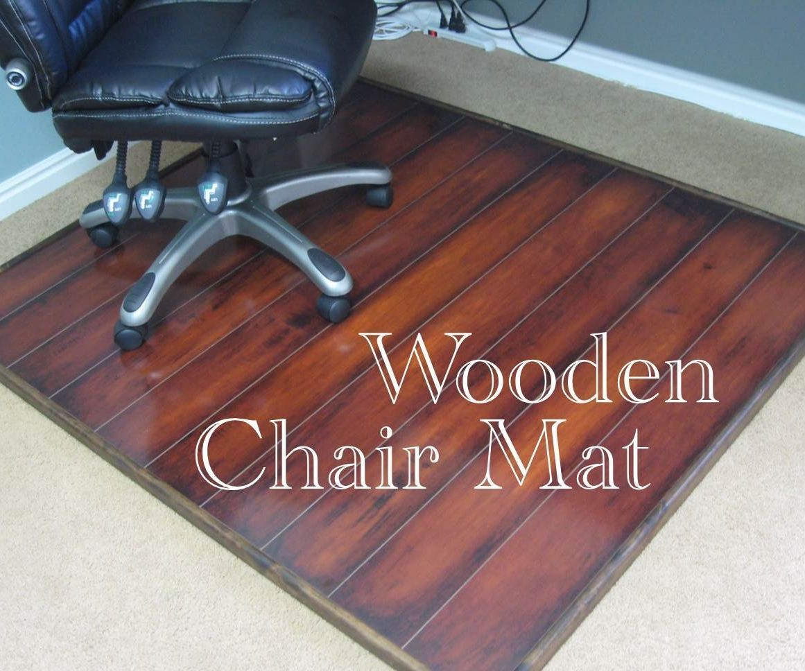 Wooden Chair Mat Diy, Will A Rolling Office Chair Damage Laminate Flooring