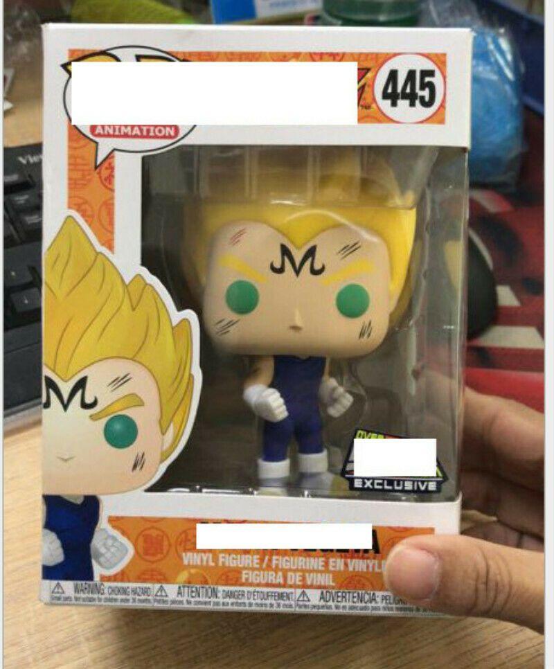 Funko Pop Dragon Ball Z Majin Vegeta Figurine 445 Vinyle Jouet Action Neuf Boite