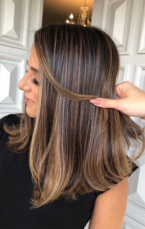 Best Hair Color Trends To Try In 2020 For A Change Up In 2020 Brown Hair With Blonde Highlights Brunette Hair Color Spring Hair Color