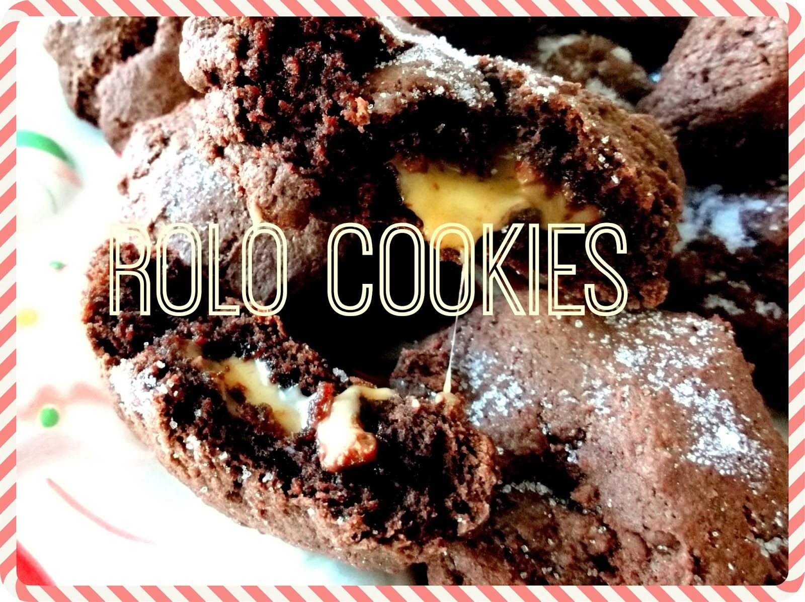 Easier rolo cookies so you have more time to eat all of