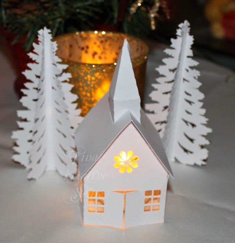 Tinas kreative Seite - Weihnachtsszene in 3D | TINAS-KREATIVE-SEITE ...