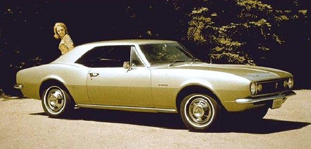 1967 Chevrolet Camaro Coupe.  The very first Camaro ever built.