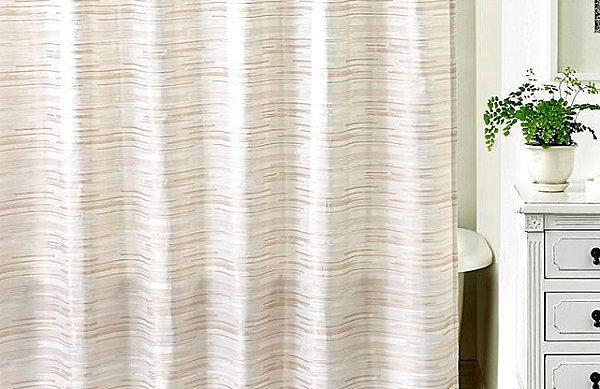 More Modern Shower Curtain Finds for a Stylish Powder Room | Modern ...