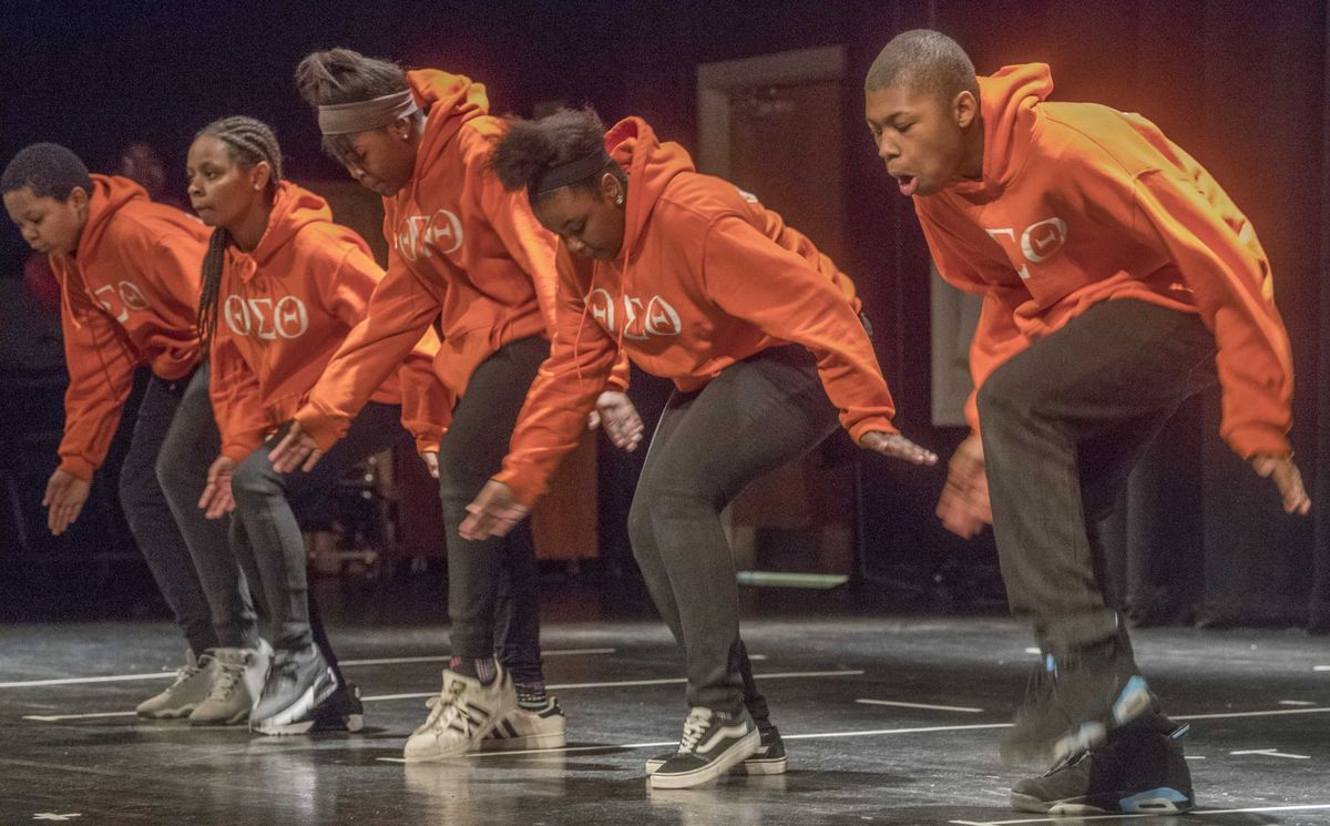 Theta Sigma Theta High School Step Team? When did middle school's get fraternities and step teams? Clearly,, I've been out of the loop....