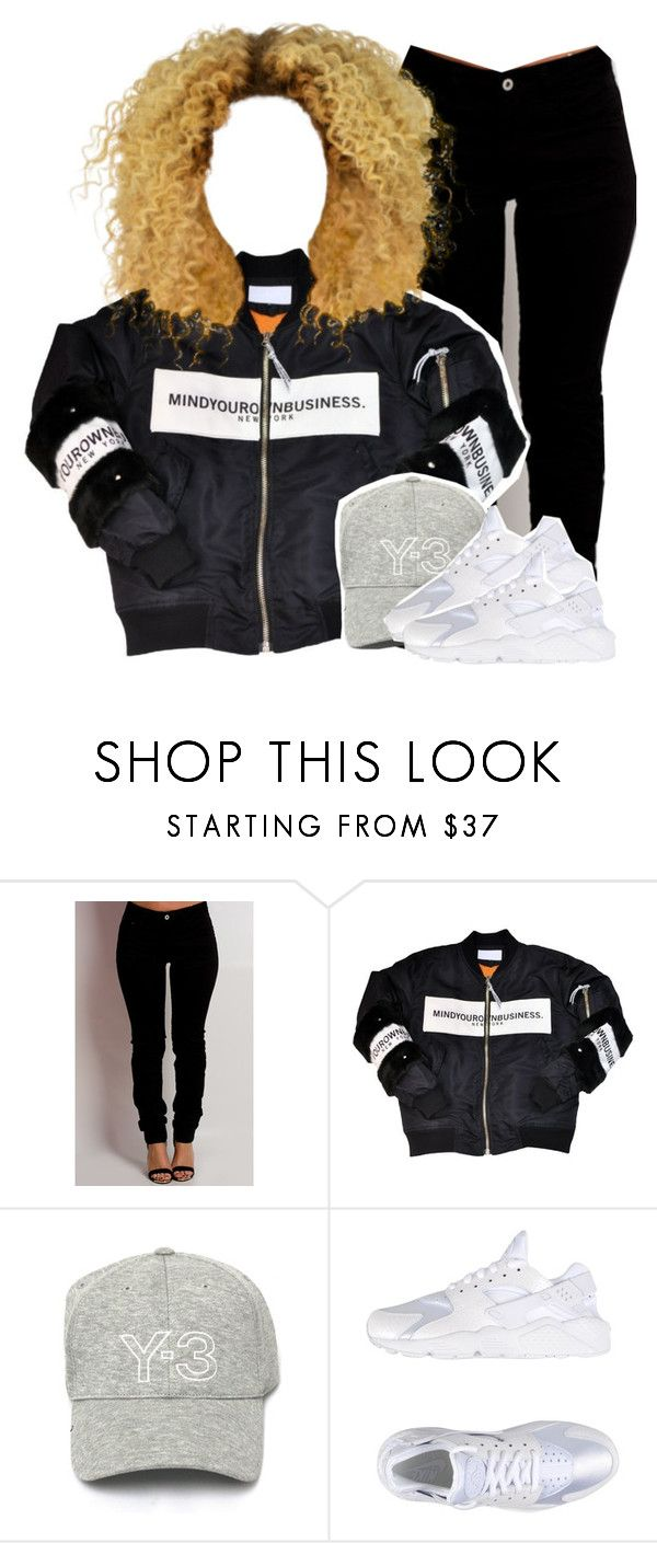 """""""songs for women"""" by kiaratee ❤ liked on Polyvore featuring Y-3 and NIKE"""
