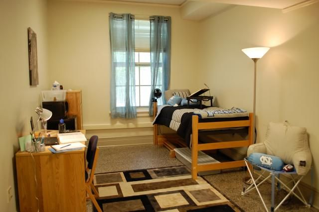 A Single Room In Connor Hall At Unc Residence Life Residential
