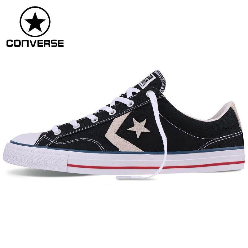 Original New Arrival 2017 Converse Unisex Skateboarding Shoes Canvas ... 21bfc4d02628
