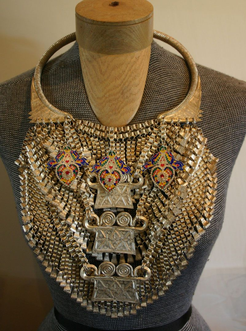 I am HMONG  A traditional hmong necklace  They are HEAVY!!!! | ME