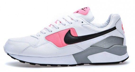 buy popular 25df5 332c5 nike air pegasus 92 og white black pink 01 570x304 Nike Air Pegasus 92 OG  White Black Atomic Red Matte Silver
