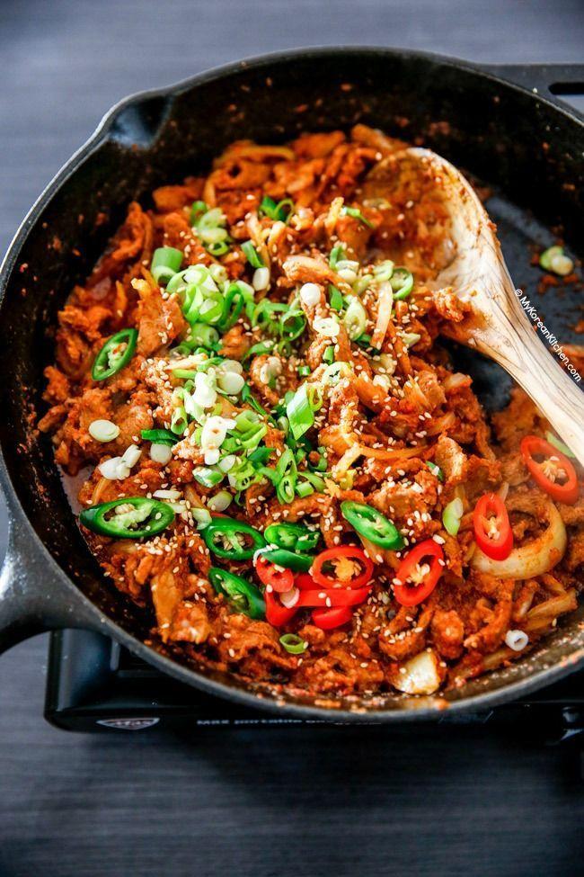Spicy Pork Bulgogi Rice Bowl | Recipe | Spicy pork, Asian ...