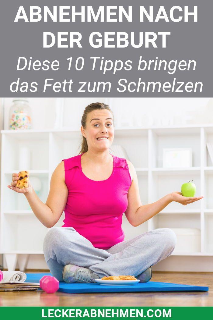 Abnehmen nach der Schwangerschaft – 10 Tipps für Ernährung und Bewegung