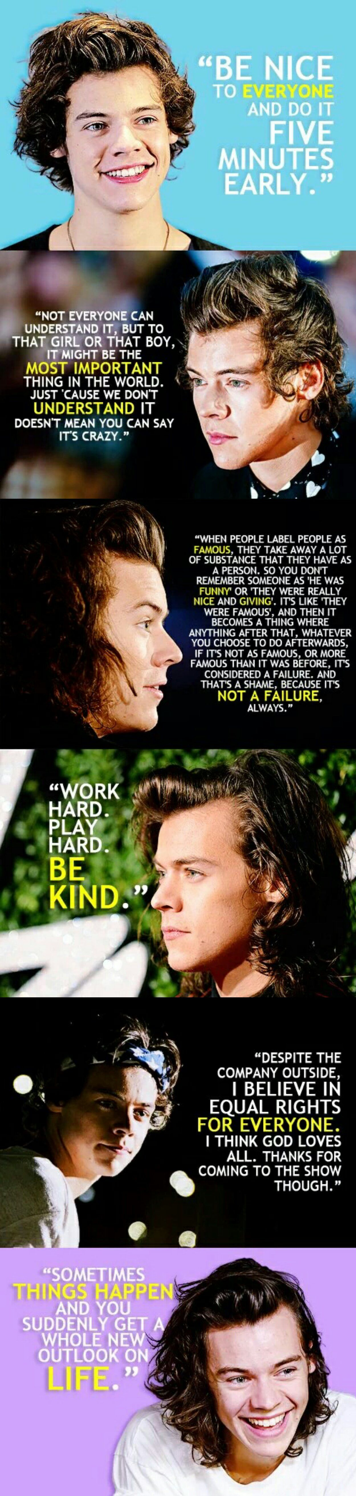 Harry Styles Quotes e Direction e Direction