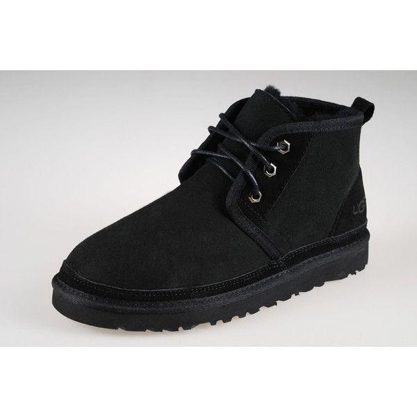 Ugg Australia Bottes Hommes Neumel 3236 Noir Entier Ugg3236 003 Boots Black Ugg Boots Ugg Boots