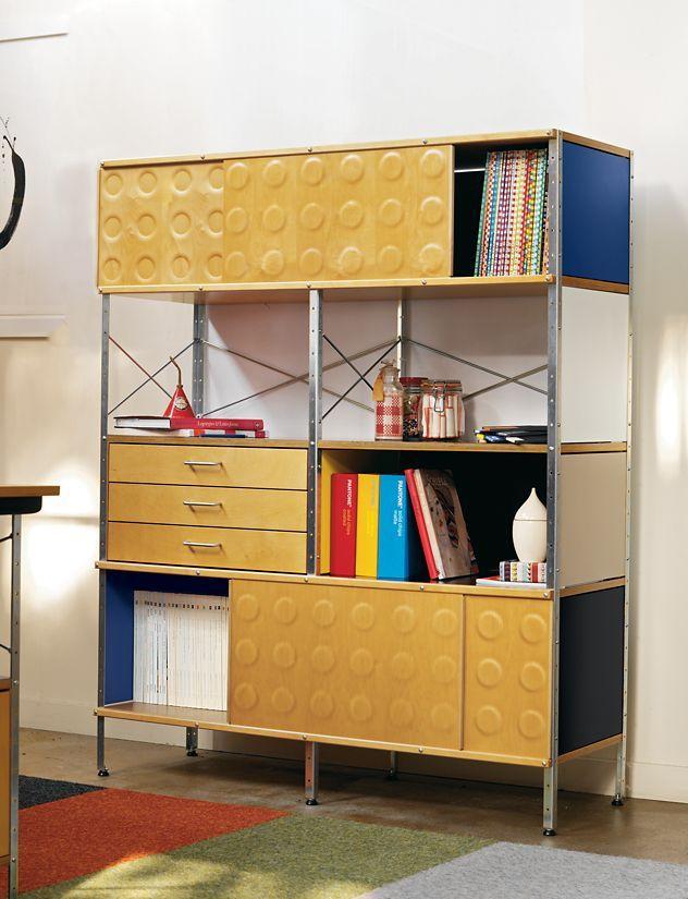 Eames® Storage Unit, 4x2   Storage, Family furniture and Condos