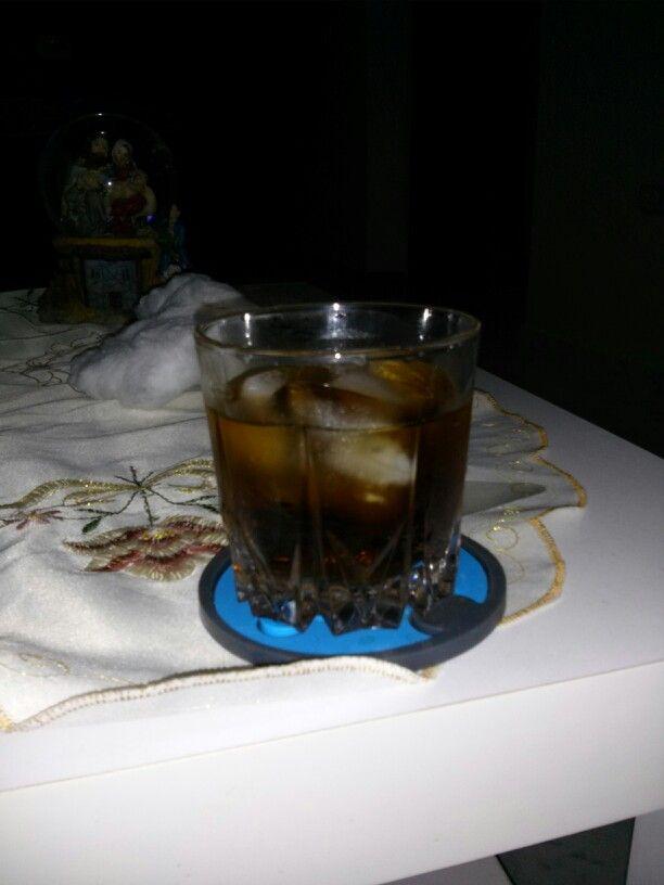 blackrussian vodka licor de cafe y refresco