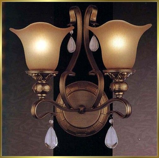 Sconces for either side of main staircase
