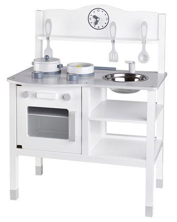 Holz Spielküche 7 Teilig In Weiß Von Kids Concept ✓ Kurze Lieferzeit ✓ Jetzt