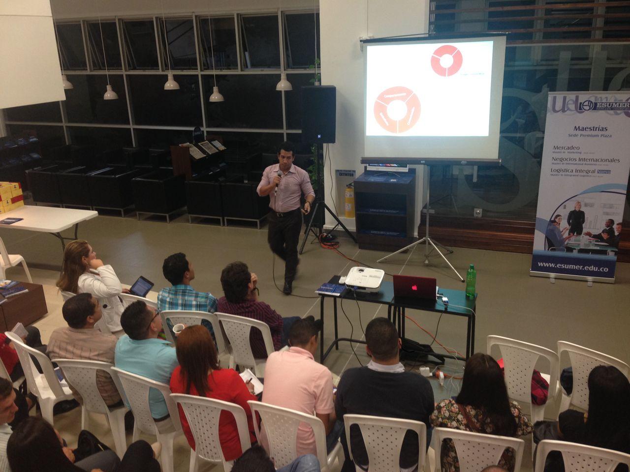 Camilo Vera en Trends & Tendencies organizado por ESUMER Medellín y ESIC