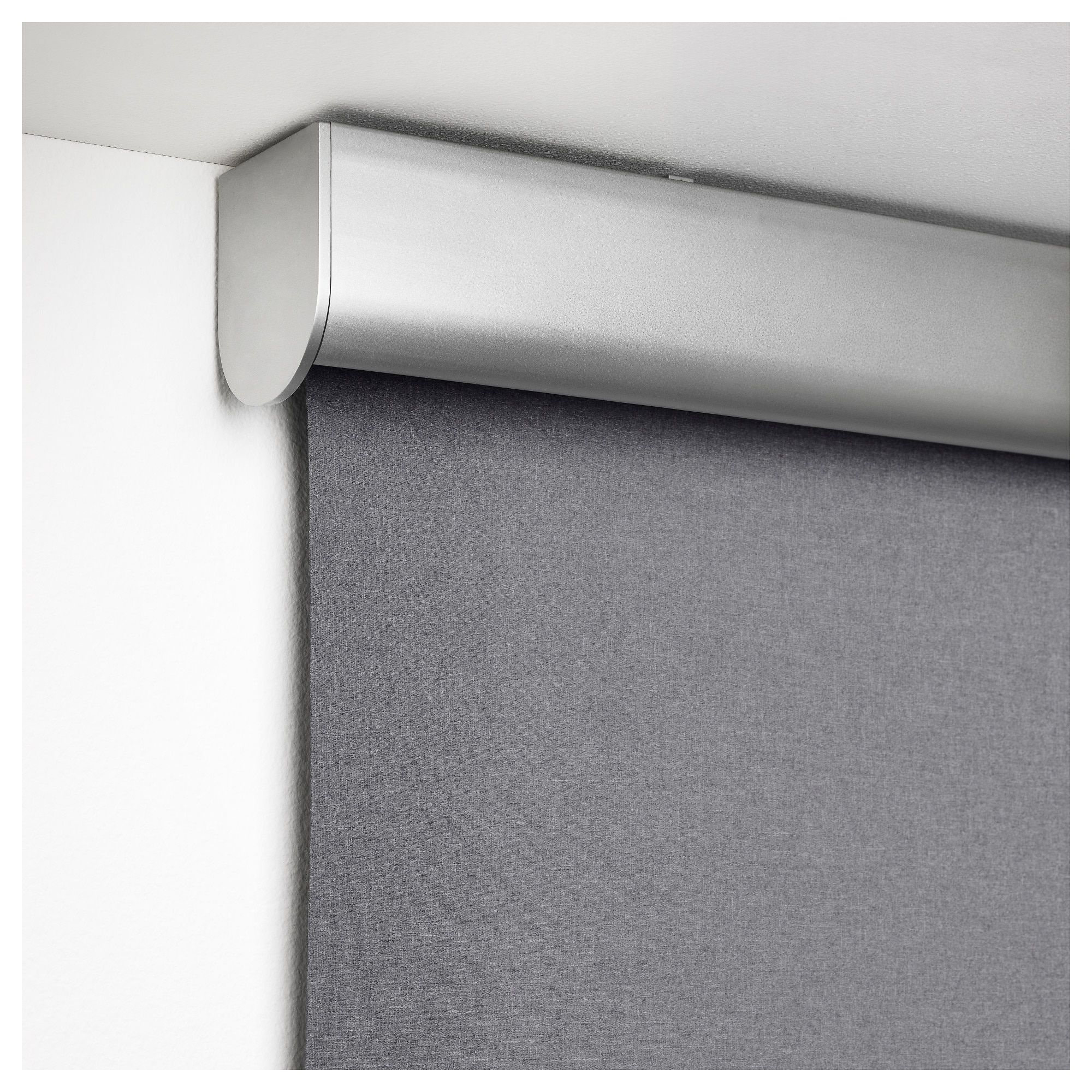 Tretur Blackout Roller Blind Light Gray 32x76 81 3x195 Cm