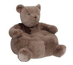 Bear Critter Chair For A Boy @ Pottery Barn